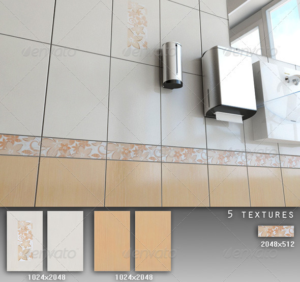 3DOcean Professional Ceramic Tile Collection C029 479751