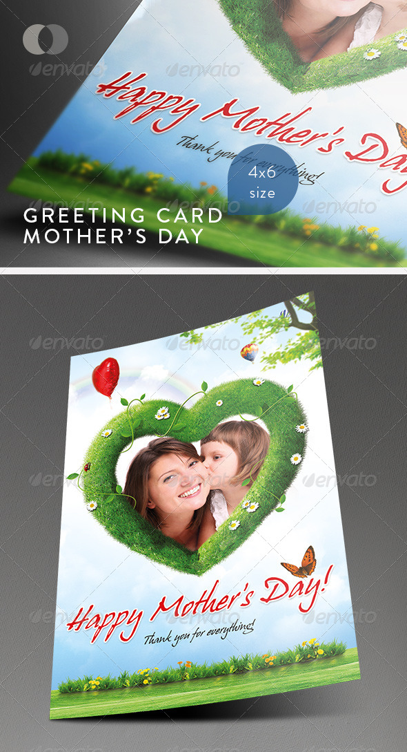 Mother's Day Greeting Cards - Vol.3 - Greeting Cards Cards & Invites