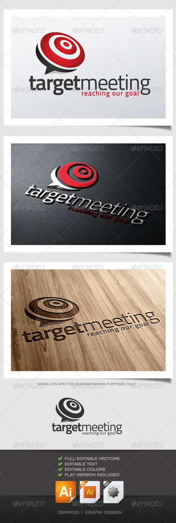 GraphicRiver Target Meeting Logo 4577625