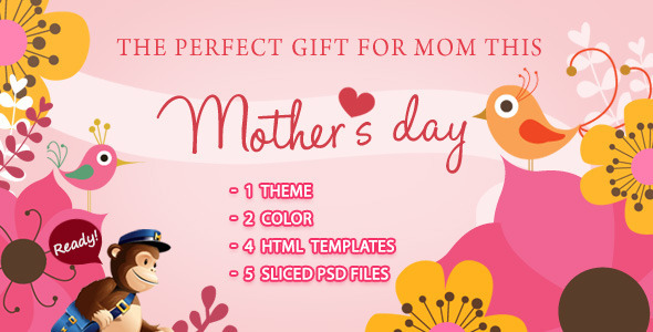 Mamalove Email Template - Email Templates Marketing