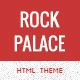 Rock Palace – a Responsive Music HTML Theme