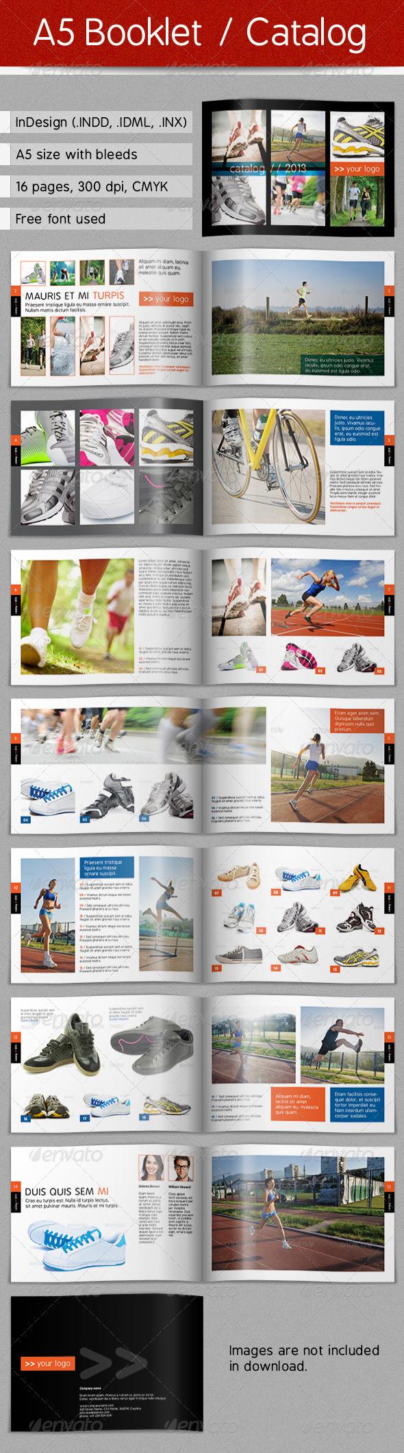 GraphicRiver A5 Booklet Catalog 4578057