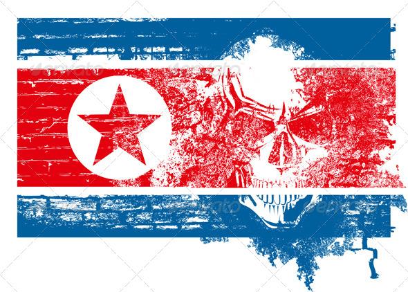 GraphicRiver North Korea Concept 4578151
