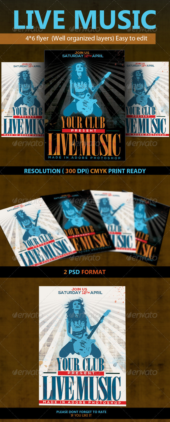 GraphicRiver Live Music 4493532