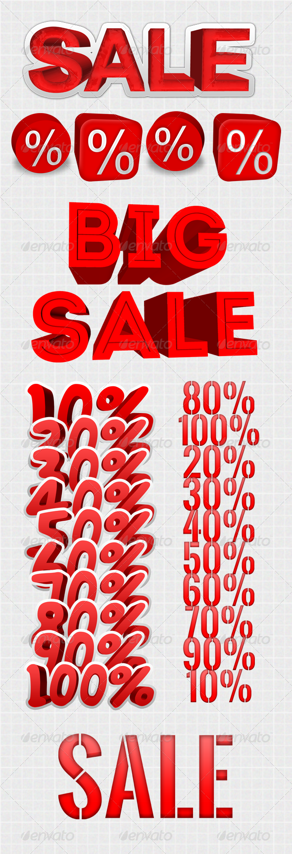 GraphicRiver Sale Text Discount Big Resolution 4578463