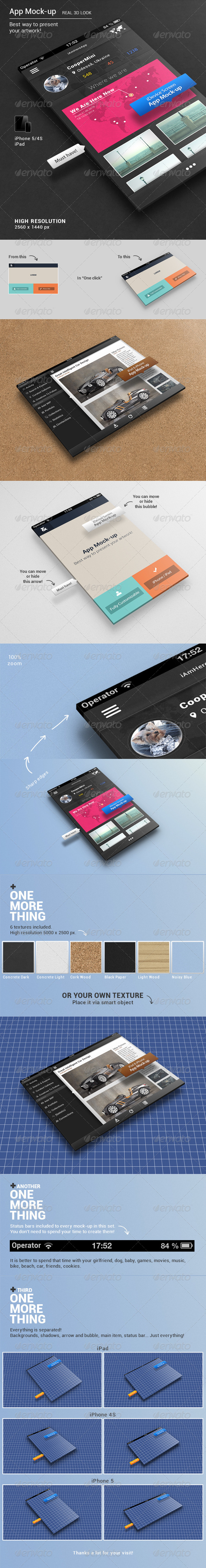 GraphicRiver App Mock-up 4579032