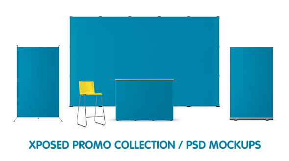 Xposed Promo Collection / PSD Mockups