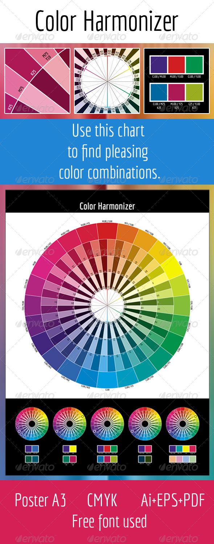 GraphicRiver CMYK Color Harmonizer 4538356