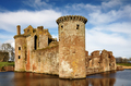 South west tower at Caerlaverock Castle - PhotoDune Item for Sale