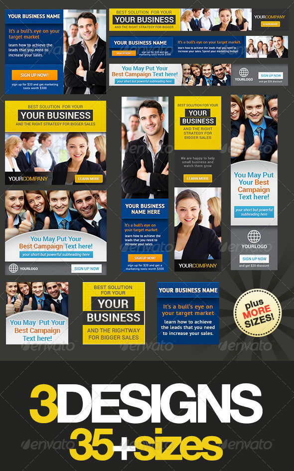 GraphicRiver Corporate Banner Set Bundle 3.0 4579694