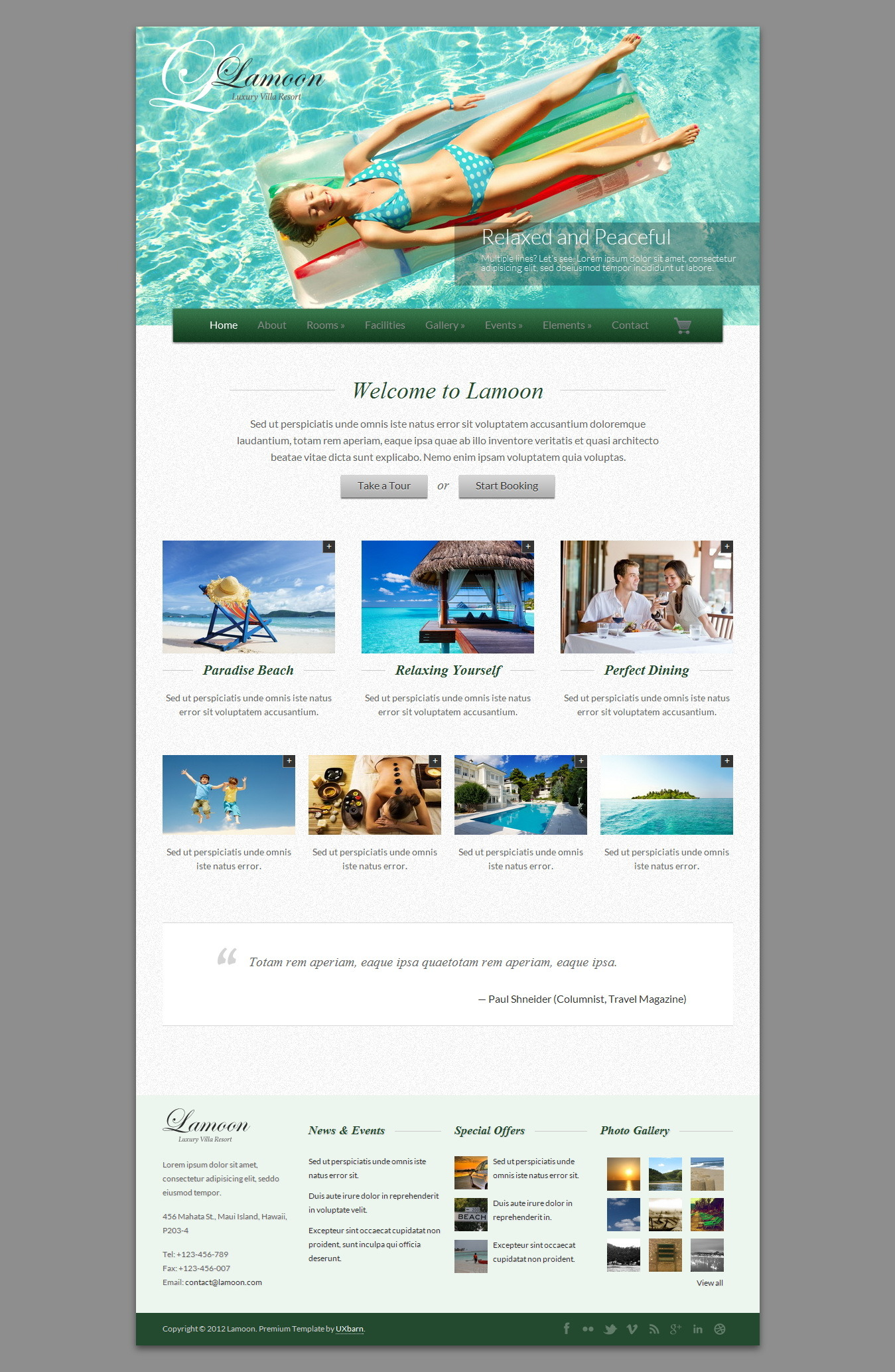 Lamoon - Responsive WordPress Theme