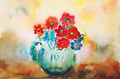 watercolor flowers - PhotoDune Item for Sale
