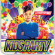 Kids Party Flyer Template v.2 - GraphicRiver Item for Sale
