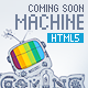 Coming Soon Machine - Animated HTML5 Template