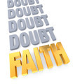 Faith Overcomes Doubt - PhotoDune Item for Sale