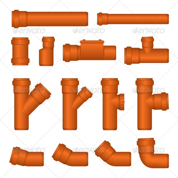 GraphicRiver PVC Pipes 4580508