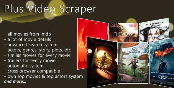 Plus Video Scrapper