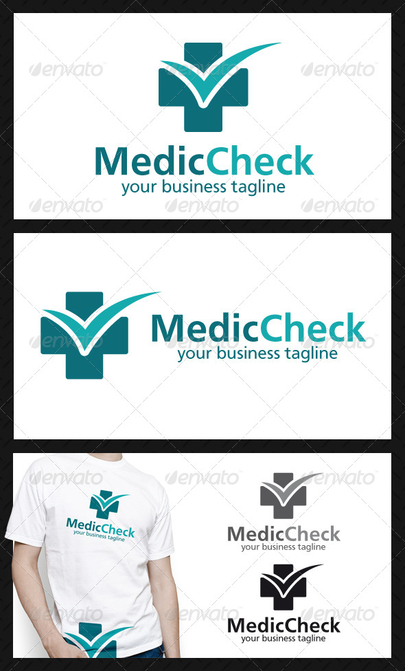 GraphicRiver Medic Check Logo Template 4580606