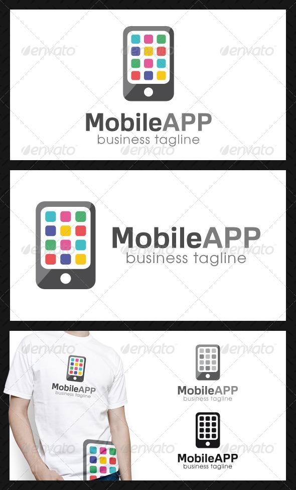 GraphicRiver Mobile App Logo Template 4580629