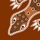 Aboriginal Dot Pattern Style Illustration - GraphicRiver Item for Sale