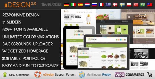 U-Design WordPress Theme - Business Corporate