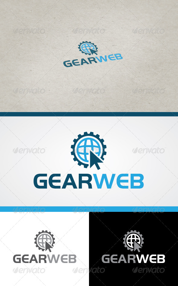 GraphicRiver Gear Web 4550668