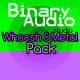 Hard Metal Whoosh Pack - AudioJungle Item for Sale