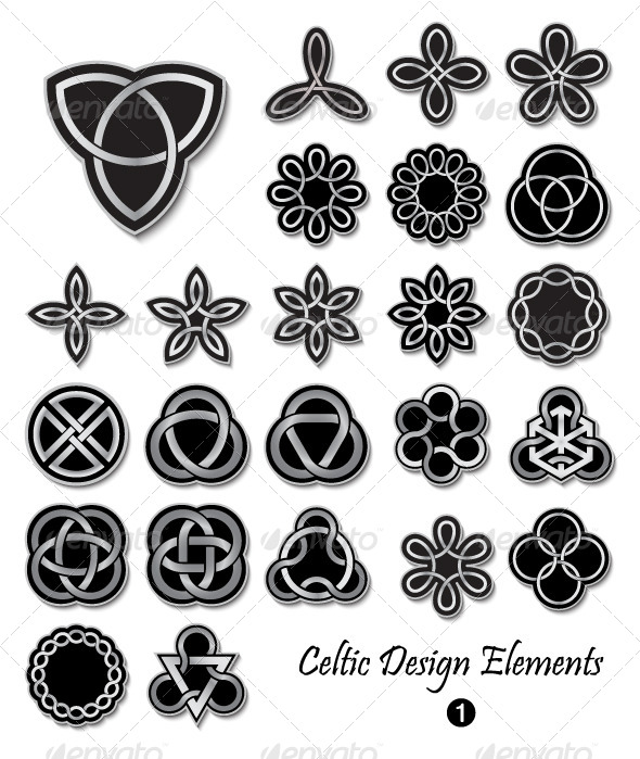 GraphicRiver Celtic Design Elements 1 4581436