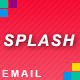 SPLASH - Responsive Business Email Newsletter - ThemeForest Item for Sale