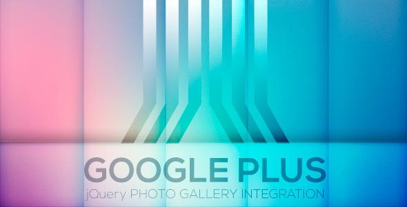 CodeCanyon Google Plus Photo Gallery Plugin 4566541