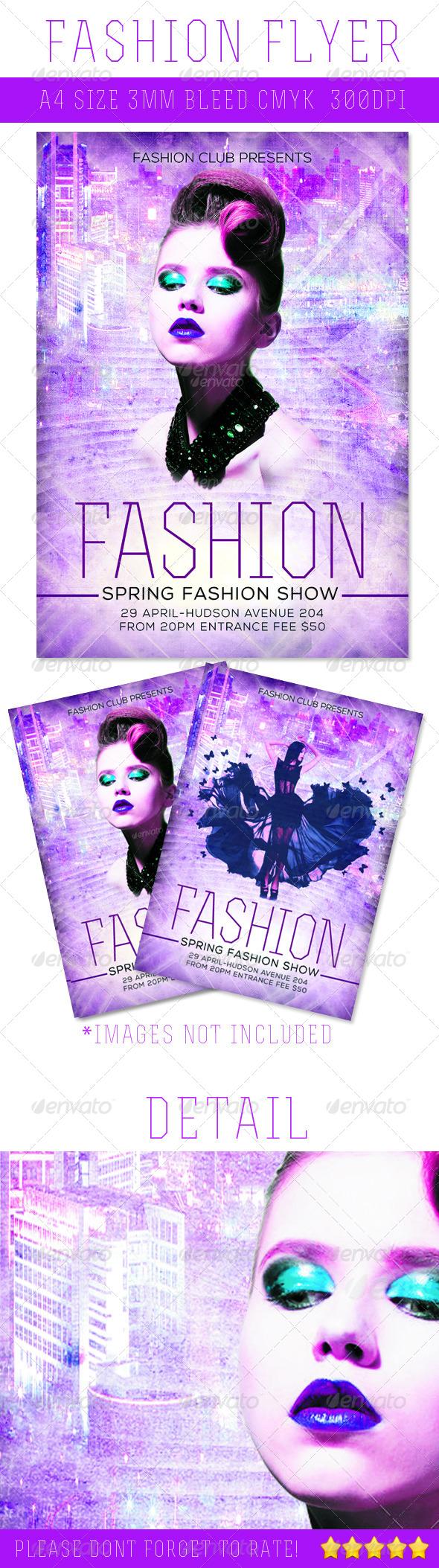 GraphicRiver Fashion A4 Flyer 4497754