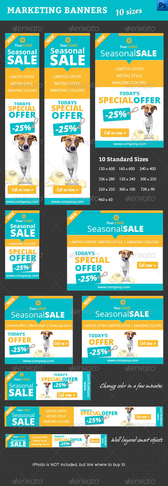 GraphicRiver Marketing Banner 4583387