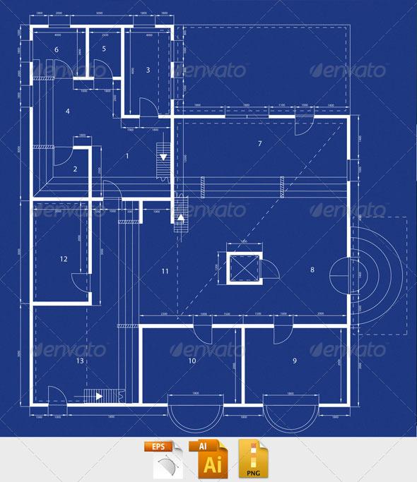 Blueprint Graphicriver