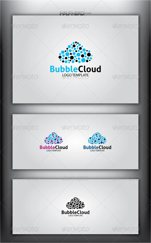 GraphicRiver BubbleCloud Logo Template 4583543