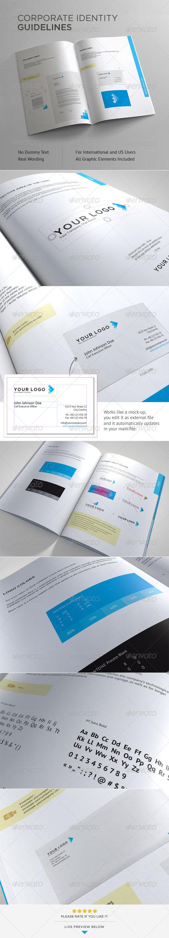 GraphicRiver Corporate Identity Guidelines 4583821