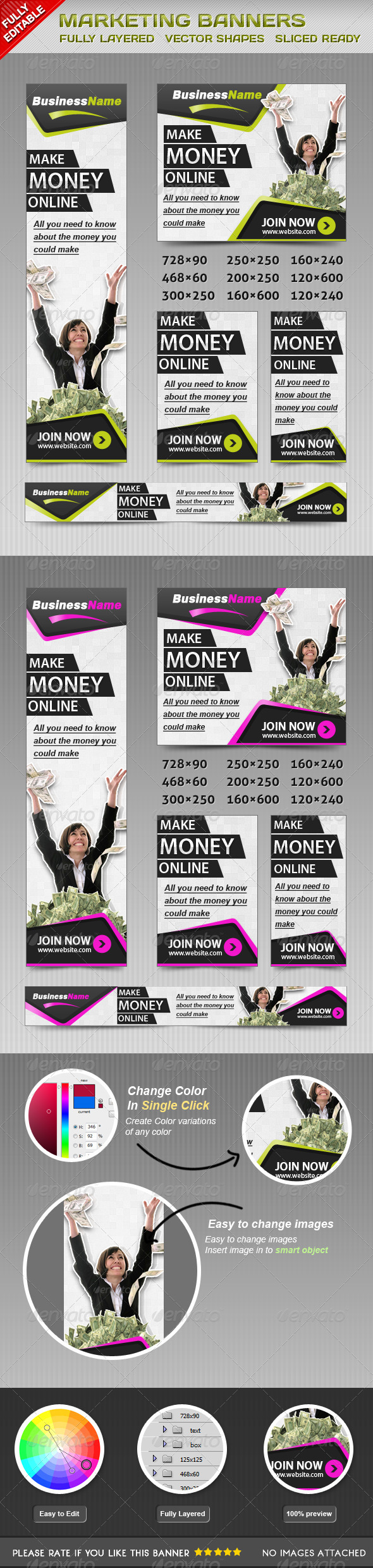 GraphicRiver Marketing Banners 4584147