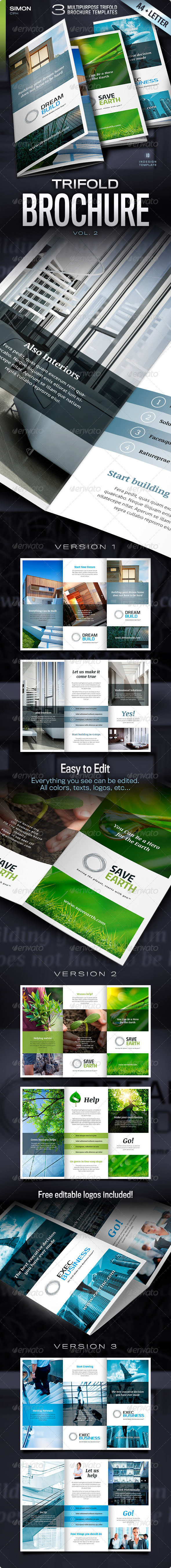 GraphicRiver Trifold Brochure Vol 2 4584228