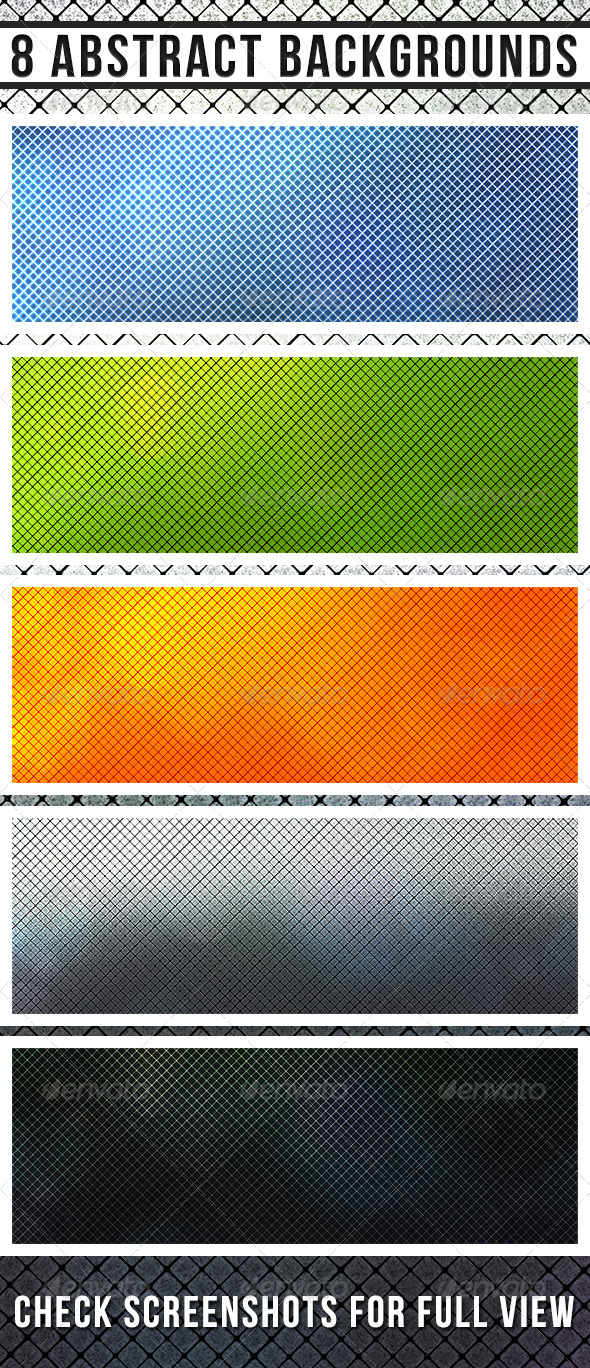 GraphicRiver Square Abstract Backgrounds 4584700