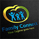 Family Connect Logo - GraphicRiver Item for Sale