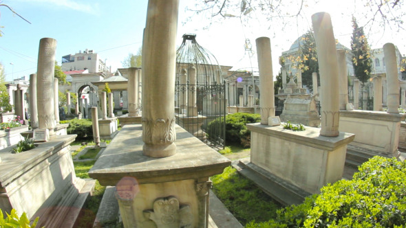 Cemetery With Tombs and Graves 5