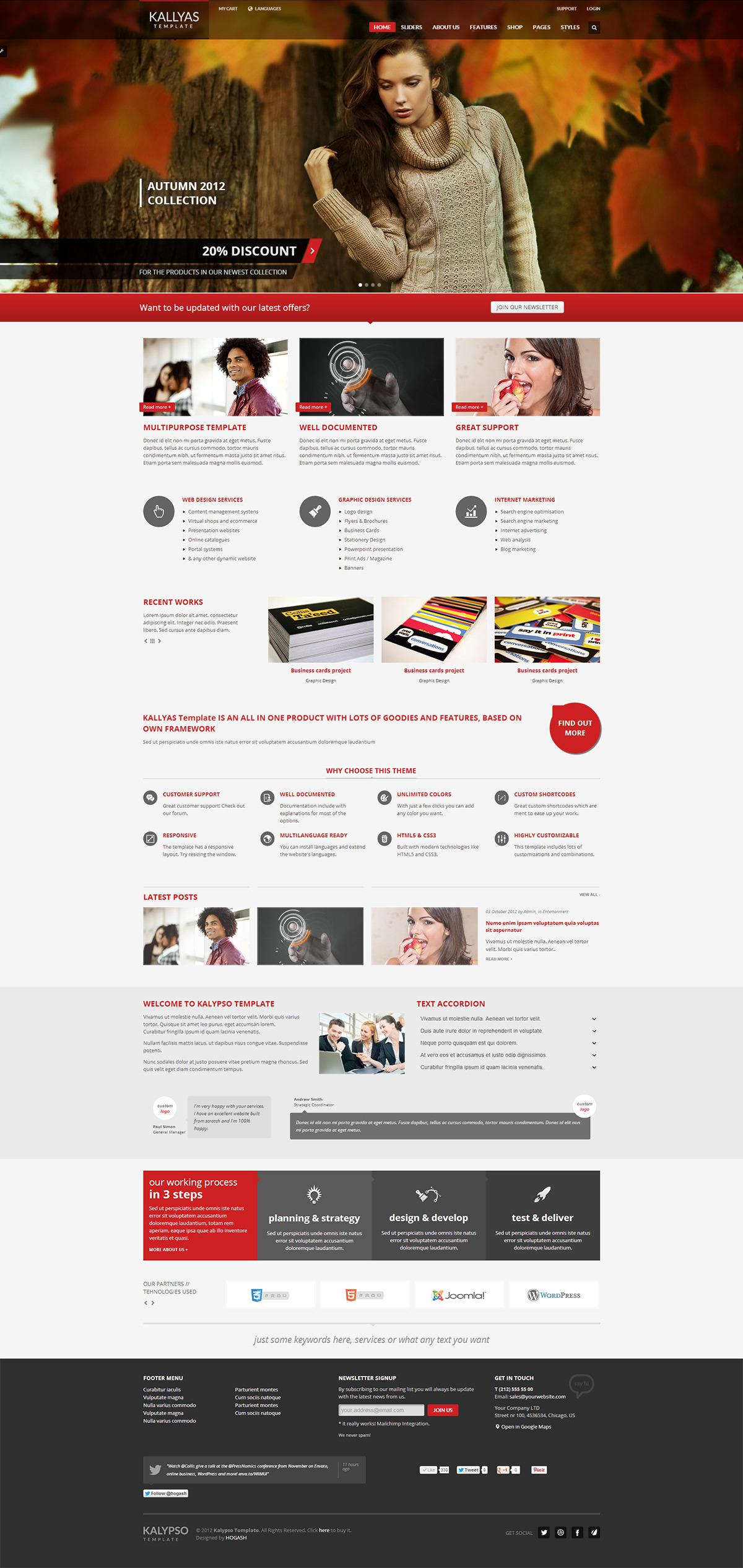 KALLYAS  Responsive Multi-Purpose WordPress Theme - GENERAL PAGE - HOMEPAGE - MAIN SLIDER