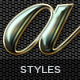 5 Luxury Text Styles - GraphicRiver Item for Sale