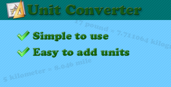Download Unit converter class nulled download