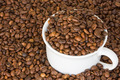 Cup full of coffee beans - PhotoDune Item for Sale