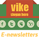 Vike Shop E-newsletters template - GraphicRiver Item for Sale
