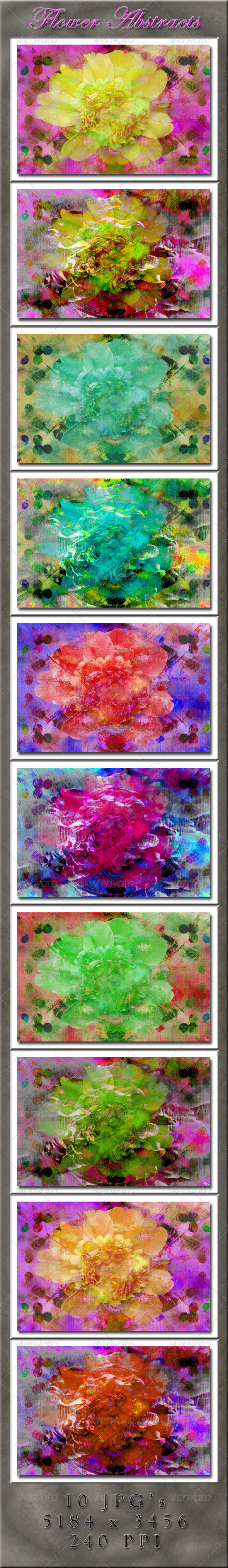 Flower Abstract Backgrounds