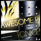 Awesome night black&white edition - GraphicRiver Item for Sale