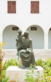 Monument Anthony of Padua in the courtyard of the church of St. - PhotoDune Item for Sale