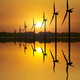 Wind Power at Sunset - PhotoDune Item for Sale