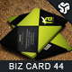 Business Card Design 44 - GraphicRiver Item for Sale